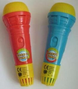 Echo Mic Echo Mike Microphone Voice Changer Groovy Tunes Kids Toys Gift Musical