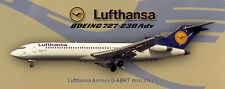 Lufthansa Airlines  Boeing 727-230 Photo Magnet (PMT1658)