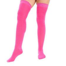 Collant, autoreggenti e parigine da donna al ginocchio rose lavabile in lavatrice