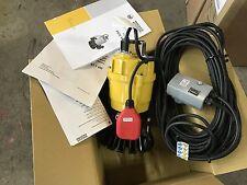 Neu WackerNeuson PST 2-400 Tauchpumpe Schmutzwasserpumpe Baupumpe 230V SCHWIMMER