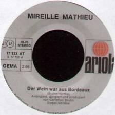"MIREILLE MATHIEU ~ DER WEIN WAR AUS BORDEAUX ~ 1976 GERMAN 7"" SINGLE"