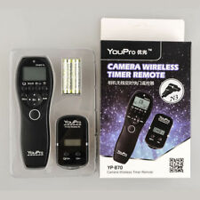 Wireless Shutter Timer Remote for Panasonic Lumix DMC-G10 DMC-G5 DMC-G3 DMC-G2