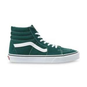 "Vans ""Sk8-Hi"" Sneakers (Bistro Green/True White) Skate High-Top Shoes"