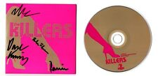 THE KILLERS AUTOGRAPHED CD SINGLE (signed autographs vinyl lp concert ticket)