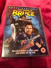 Bruce Campell In My Name Is Bruce & Bubba Ho-Tep DVD & Bonus 24 Page Comic R2
