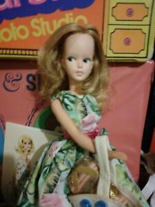 """Vintage 1960s Tressy Friend """"Mary Makup""""Doll Grow Hair + Vintage Repro Outfit"""