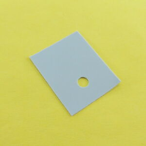 TO-3P Silicone Isolation Pad Thermal Conduction Transistor Sheet