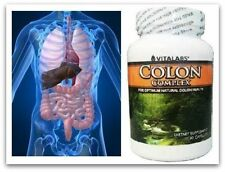 Bowel Colon Cleanser Pills Flush Detox Parasites Digestive Cleanse Tablets 90s