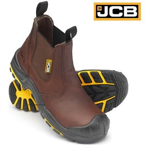 JCB Mens B XSERIES Black Safety Boots Size 10