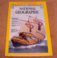 National Geographic December 1977 Reach new World America Brendan Japan No Map