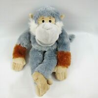 GANZ Plush Playtime Puppets Squirrel Monkey Hand Puppet Lined Stuffed Toy 16""