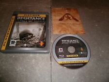 JEU PS3 PAL Ver. Française: RESISTANCE: FALL OF MAN (PLATINUM)- Complet TBE