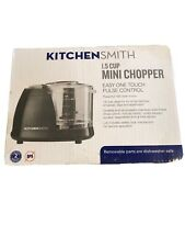 Kitchen Smith Mini Chopper 1.5 Cup Easy One Touch Pulse Control