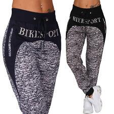 Pantalon de Jogging Survêtement Fermeture Éclair Motard Sport Fitness Poches Mix