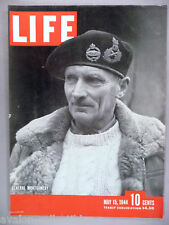 Life Magazine - May 15, 1944 - FRONT COVER ONLY ~~ General Bernard Montgomery