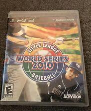 Little League World Series Baseball 2010 (Sony PlayStation 3, 2010) (LP1056652)