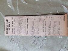 M3-7a ephemera 1941 dagenham war news mayor fund for evacuees