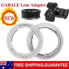 GABALE Lens Adapter for Sony NEX E-Mount Lens to Nikon Z Mount Camera Z6 Z7
