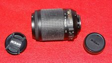 Nikon DX zoom Nikkor 55-200 mm f/4-5.6 DX g SWM AF-S VR if ed objetivamente