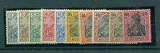 Echte Briefmarken aus dem deutschen Reich (1900-1918) mit Falz