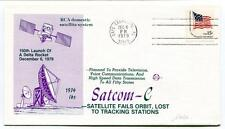 1979 Satcom-C Satellite Fails Orbit Lost Tracking Stations Cape Canaveral USA