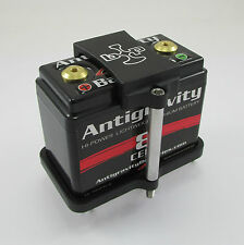 ANTIGRAVITY Billet Battery Tray Motorcycle Bobber Cafe SMALLCASE 8 CELL AG801