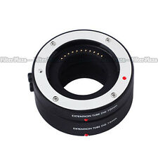 Macro AF Auto Focus Extension Tube DG Set for Four Thirds M43 Micro 4/3 Camera