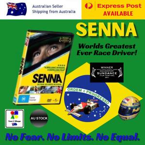 Ayrton Senna Movie DVD No Fear No Limits No Equal True Story Greatest Ever Racer