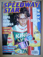 SPEEDWAY STAR MAGAZINE-Title Win for Bargh-Track Reviews Eastbourne, 16 Jan 1993