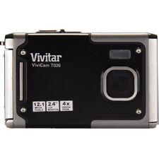 Vivitar Vivicam T026 12.1 Mp Cámara Digital Resistente Al Agua En Negro
