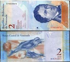 VENEZUELA 2 BOLIVARES UNC # 576
