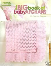 """Big Book of Baby Afghans ""  ~ Leisure Arts, Crochet Book  ~ BRAND NEW"