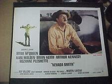 NEVADA SMITH, orig 1969 LC #4 [Karl Malden] - Steve McQueen on border