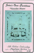 Crafts - Quilting - Victorian House - Silk Ribbon Embroidery Pattern