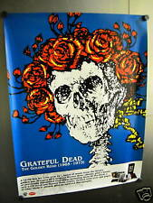 GRATEFUL DEAD Large PROMO POSTER Skull/Roses mint condition