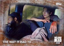 Walking Dead Season 5 Rust Parallel Base 53 Chase Card 86/99