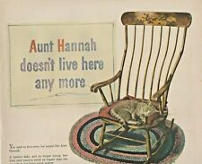 1947 General Motors Automobile Print Ad Aunt Hannah Doesn't Live Her Anymore