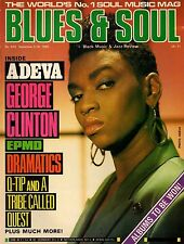 Adeva Blues & Soul 1989  George Clinton  EPMD A Tribe Called Quest The Dramatics