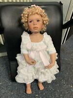 Pamela Erff Künstlerpuppe Porzellan Puppe 65 cm. Limitierte Auflage. Top Zustand