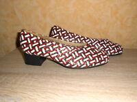 Vasana Damen Pumps NEU Gr. 6,5 40 Überweite M in multicolour & Leder