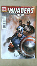 INVADERS NOW #4 CHAYKIN CAPTAIN AMERICA VARIANT 1ST PRINT MARVEL (2011) DYNAMITE