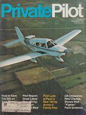 Private Pilot (Nov 1975) Piper Archer II, Tr.2 Cheetah, Waldo Rotorwing, 2T-1A-2