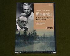 SCHUBERT WINTERREISE 1979 DIETRICH FISCHER DIESKAU ALFRED BRENDEL TDK DVD New