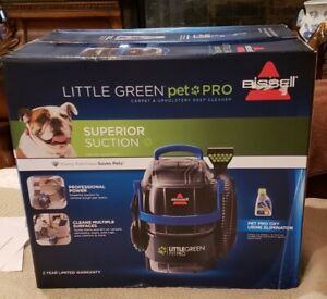 BISSELL LITTE GREEN PET PRO SUPERIOR SUCTION