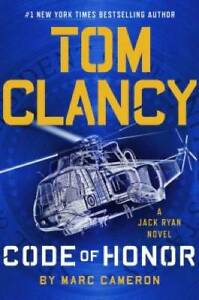 Tom Clancy Code of Honor - Hardcover By Cameron, Marc - GOOD