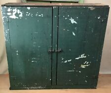 One Of A Kind Handmade Wooden Cabinet ~ Made With Two Antique Naptha Soap Crates