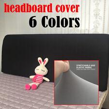 NEW Stretch Dustproof Bedding Headboard Cover Bed Head Bedspread Slipcover Queen