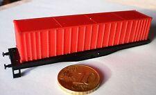 NEUF: CHASSIS NU DE WAGON ET SON CONTENEUR ( 88,50mm) EN N ARNOLD.