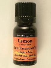 Ancient Wisdom Aromatherapy Essential Oils 10ml Lemon
