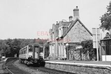 PHOTO  CLASS 150  AT EGGESFORD  RAILWAY STATION 1993